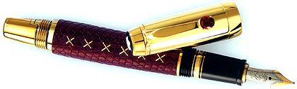 Und nochmal mit wärmeren Farben: Montblanc-Frauenfüllfederhalter