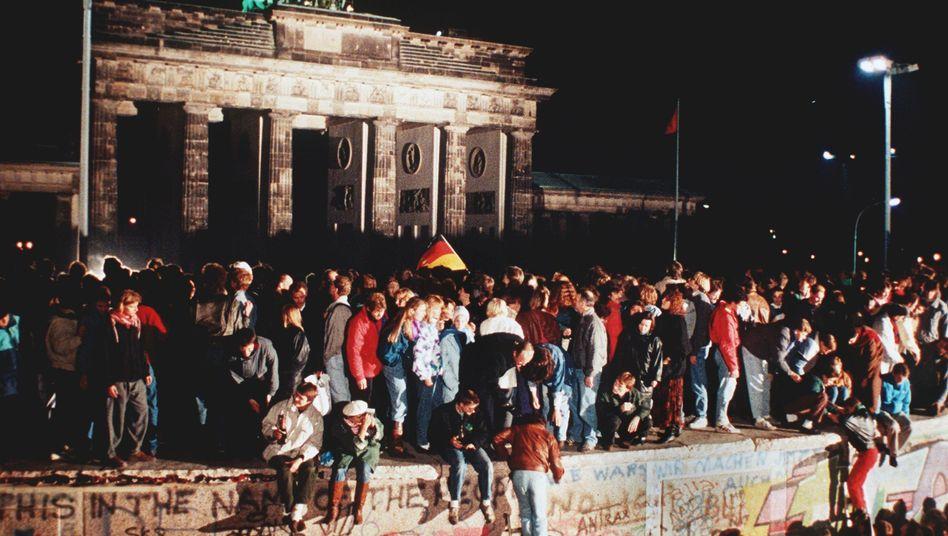 9. November 1989: Die Berliner Mauer fällt