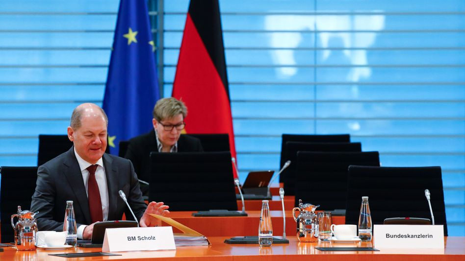 Lücken im System: Kabinettssitzung am Montag ohne Bundeskanzlerin.