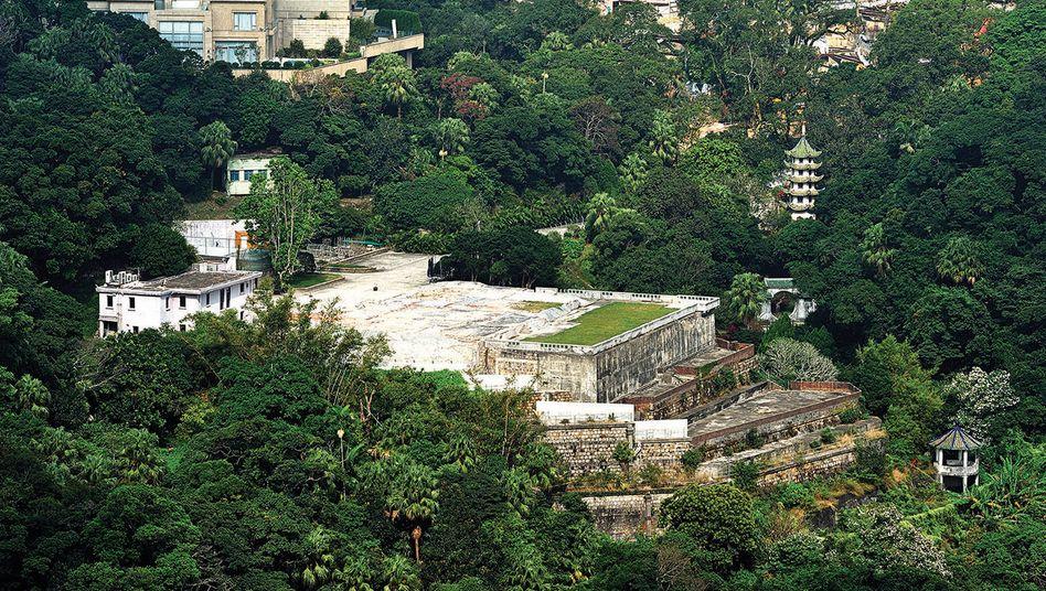 Die Ho Tung Gardens in Hongkong: Mit 5,1 Milliarden HK-Dollar die bislang teuerste Immobilie im privaten Handel der Stadt