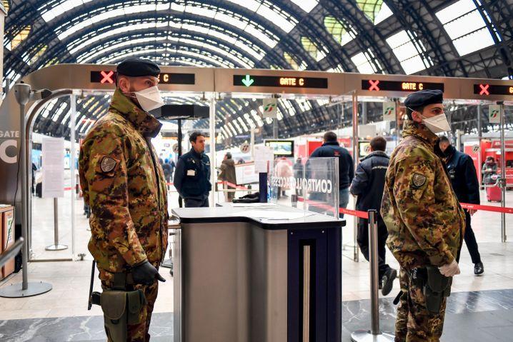 Ganz Italien wird zum Sperrgebiet: Die Regierung hat am späten Montagabend der Ausbreitung des Corona-Virus das ganze Land zum Sperrgebiet mit stark eingeschränkten Reise und Bewegungsmöglichkeiten erklärt.