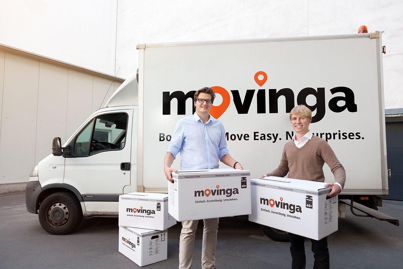 movinga - Die Gründer Bastian Knutzen (r) und Chris Maslowski (l) (Kopie)