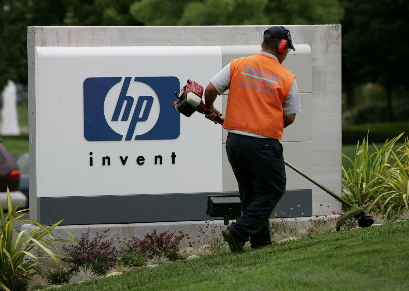 NICHT VERWENDEN 190811NID103 Hewlett-Packard Logo