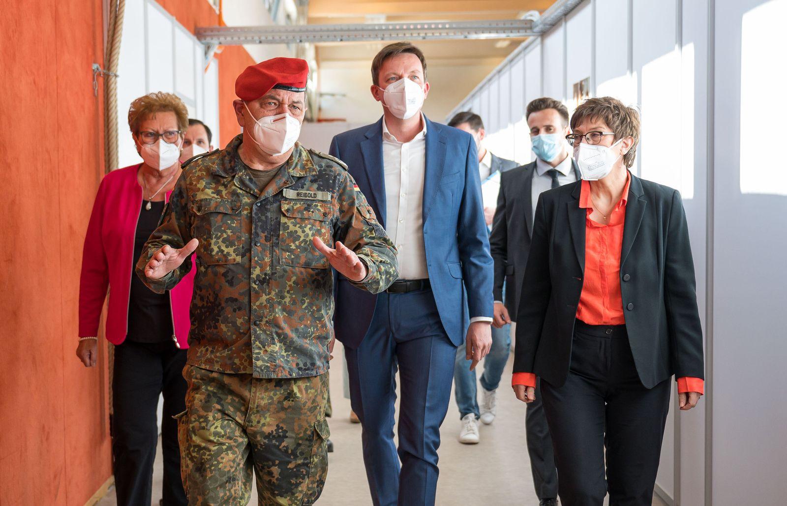 Coronavirus - erste Impfzentrum der Bundeswehr
