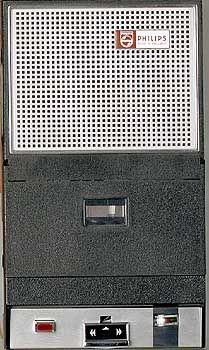 """Der Prototyp: """"Taschen-Recorder 3300"""" von Philips"""