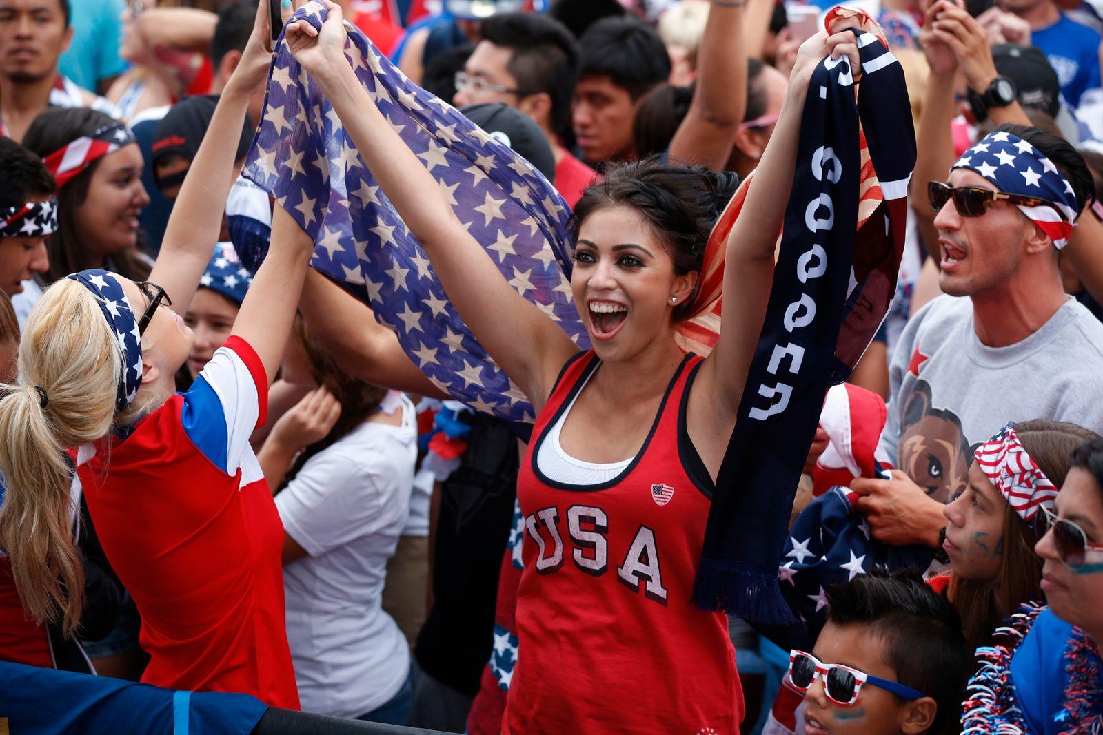 US Fußballfans