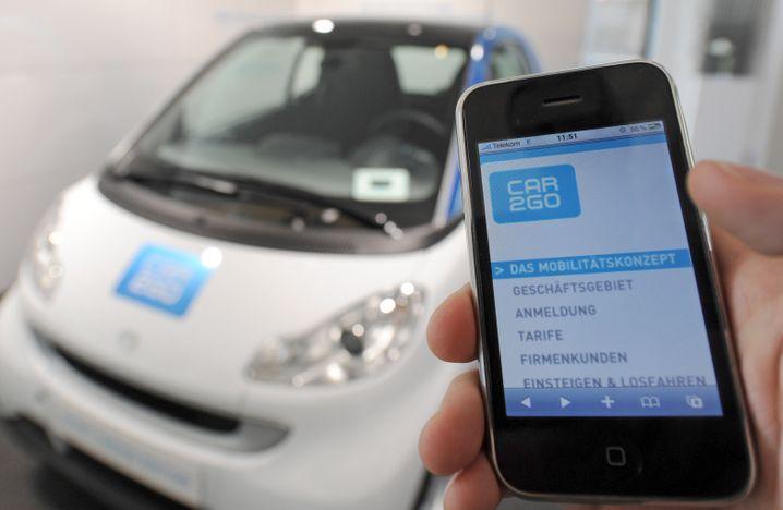 Car2Go: Auch Daimler zeigt in Sachen digitaler Mobilitätskonzepte in letzter Zeit verstärkt Präsenz