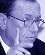 Schwierige Zeiten für den Chef: Jürgen Schrempp