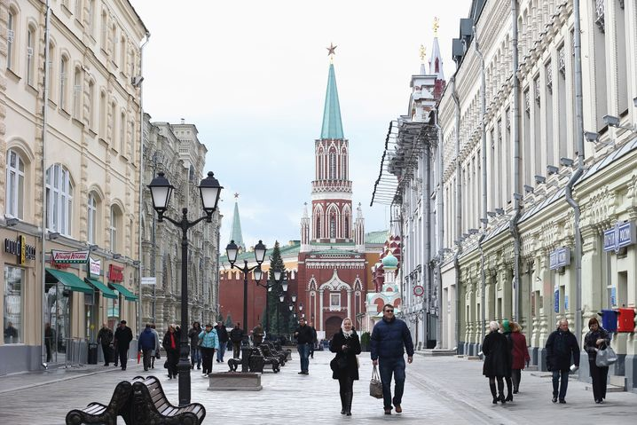 Einkauf in Sichtweite des Kreml? Kein Problem - das entsprechende Kleingeld vorausgesetzt