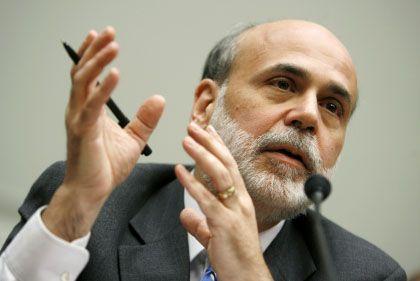 """US-Notenbankchef Bernanke: Leitzins für """"längere Zeit"""" voraussichtlich """"außergewöhnlich niedrig"""""""