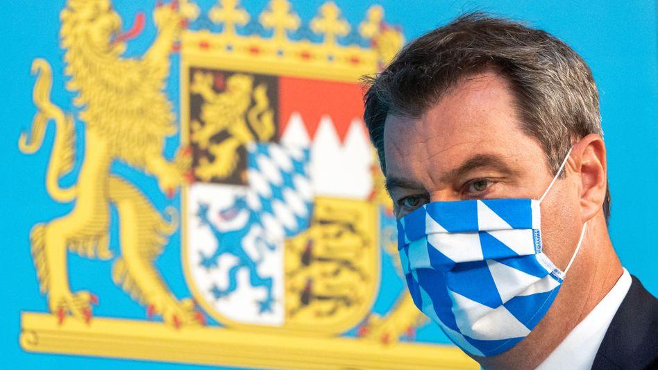 Markus Söder: 10 Millionen Corona-Schnelltests für Bayern bestellt - die meisten bei Siemens Healthineers