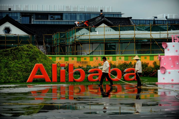 Alibaba-Zentrale in Hangzhou, China