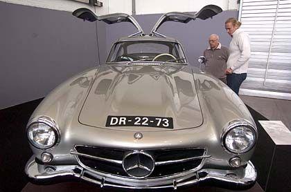 Ein Ferrari war nichts dagegen: Mercedes 300 SL