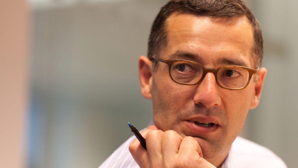 Pimco-Fondsmanager Andrew Bosomworth: Pimco hat ebenso wie viele andere US-Anleger Euro-Anleihen generell untergewichtet.