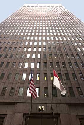 Hochfinanz: Die Zentrale von Goldman Sachs in New York