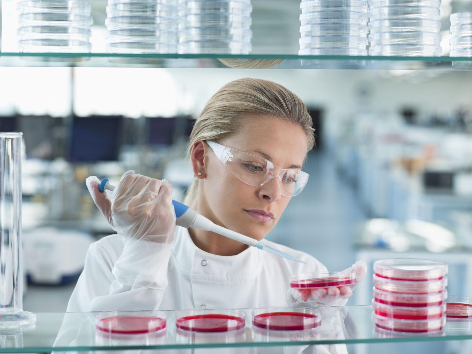 NICHT MEHR VERWENDEN! - Forscher / Forschung / Wissenschaftler / Labor