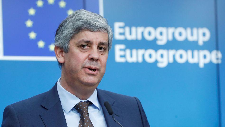 Will zurück zur Zentralbank: Portugals Finanzminister und Euro-Gruppen-Chef Mário Centeno