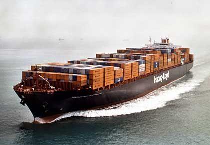 Hapag-Containerschiff: Vollständiger Verkauf nicht vorgesehen