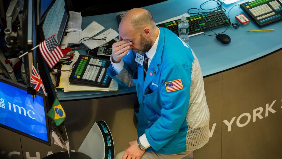 Ausverkauf: Der Dow Jones rauscht weiter abwärts