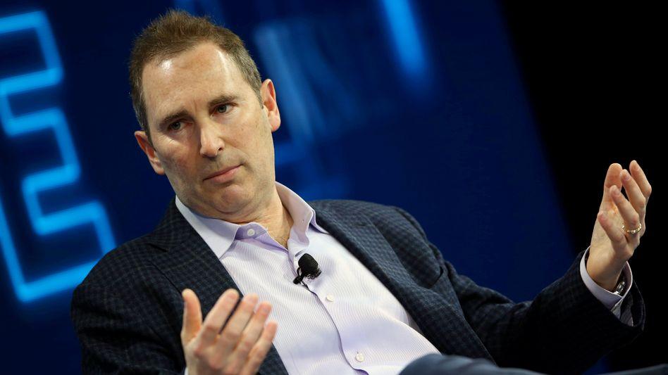 Andy Jassy: Seit Anfang Juli verantwortet er als Vorstandschef die Geschäfte von Amazon