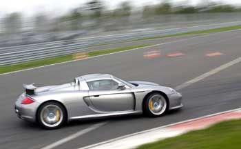 Im Grenzbereich: Der neue Supersportwagen Porsche Carrera GT
