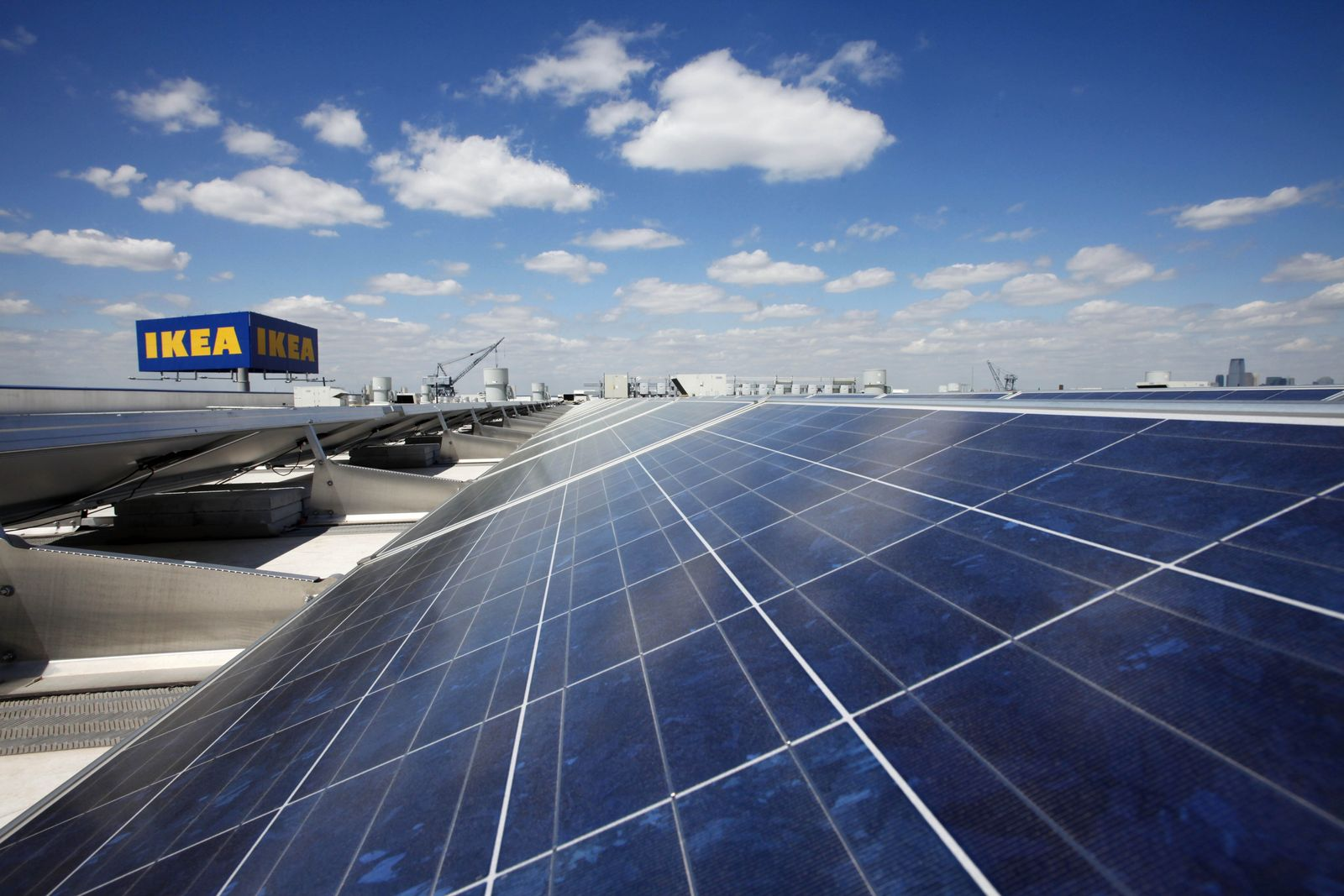 IKEA Brooklyn Solarzellen