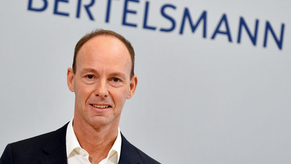 """Bertelsmann-Chef Thomas Rabe: """"Weiter investieren"""""""