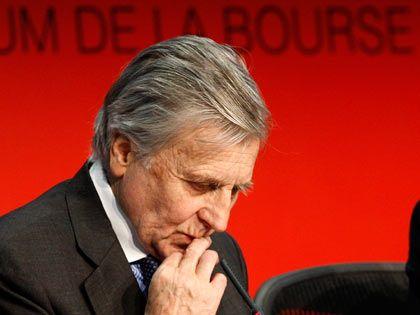 Sorgenvoll: EZB-Präsident Trichet in Paris