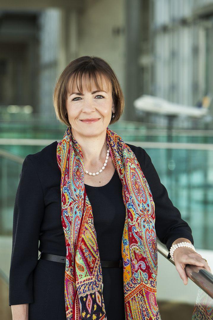 Lufthansa-Personalchefin Bettina Volkens