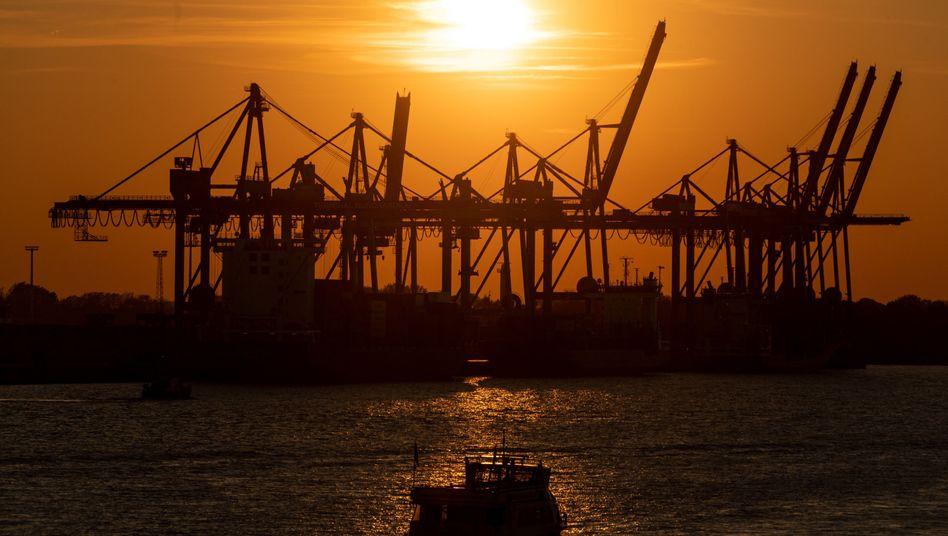 Hamburger Hafen: Die Exporte sind im April um 24 Prozent eingebrochen