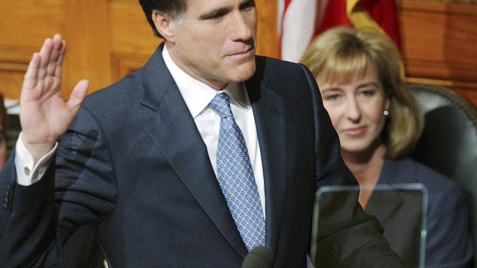 Mitt Romney: Holpriges Rennen um die Präsidentschaft in den USA