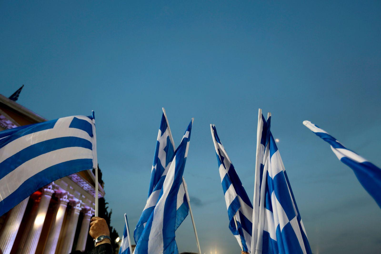 Griechenland / Fahnen