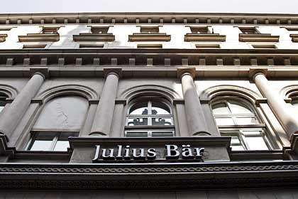 Begehrt: Julius Bär könnte schon bald übernommen werden