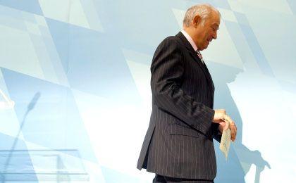 Tritt ab: Bayerns Ministerpräsident Beckstein