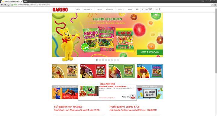 Haribo macht Kinder froh und Erwachs´ne ebenso - NetFed allerdings eher nicht