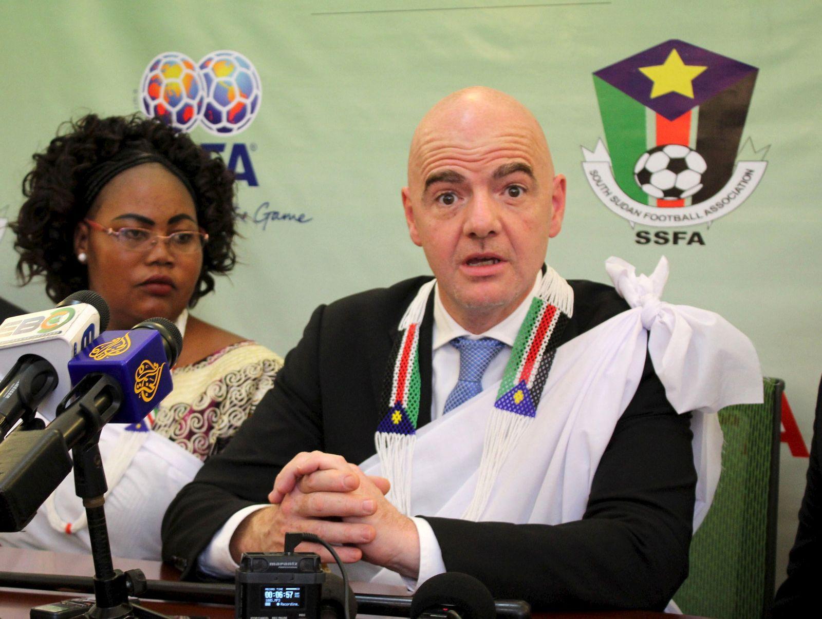 SOCCER-FIFA/SOUTHSUDAN