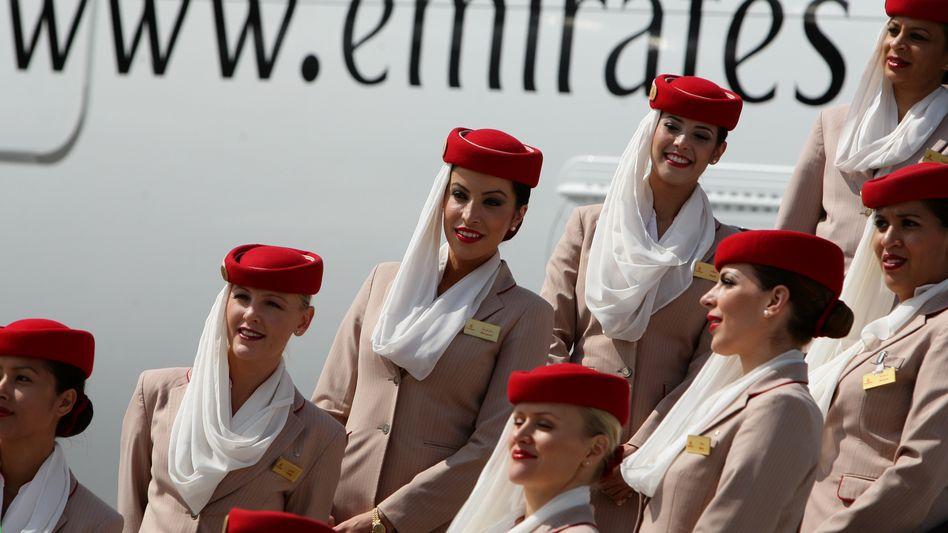 Die arabische Fluggesellschaft Emirates schaut erstmals seit Jahrzehnten auf einen Milliardenverlust