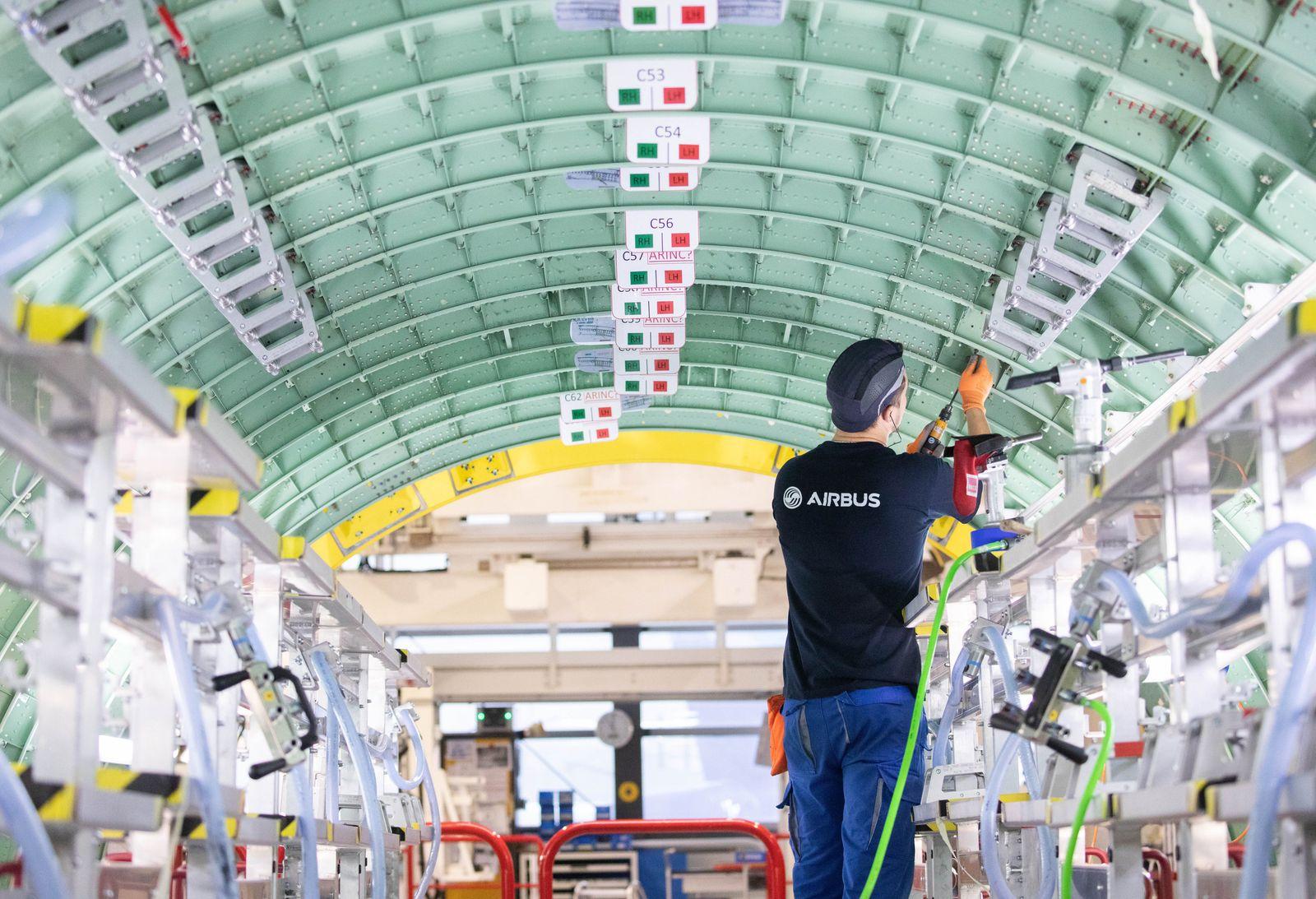 Airbus drosselt Produktion um 40 Prozent - Entlassungen drohen