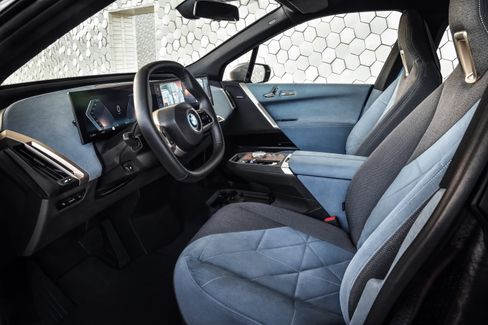 Innenraum des BMW iX