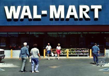 In Deutschland gescheitert:US-Einzelhändler Wal-Mart