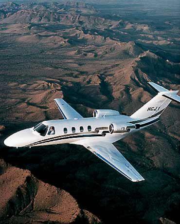 Mein Flugzeug: Cessna CJ1