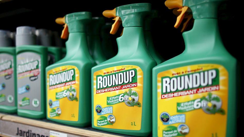 """Breitband-Unkrautkiller: Der US-Konzern Monsanto vertreibt Glyphosat seit vielen Jahren unter der Marke """"Roundup"""". Nun wächst der Widerstand in der EU, die Zulassung zu verlängern"""