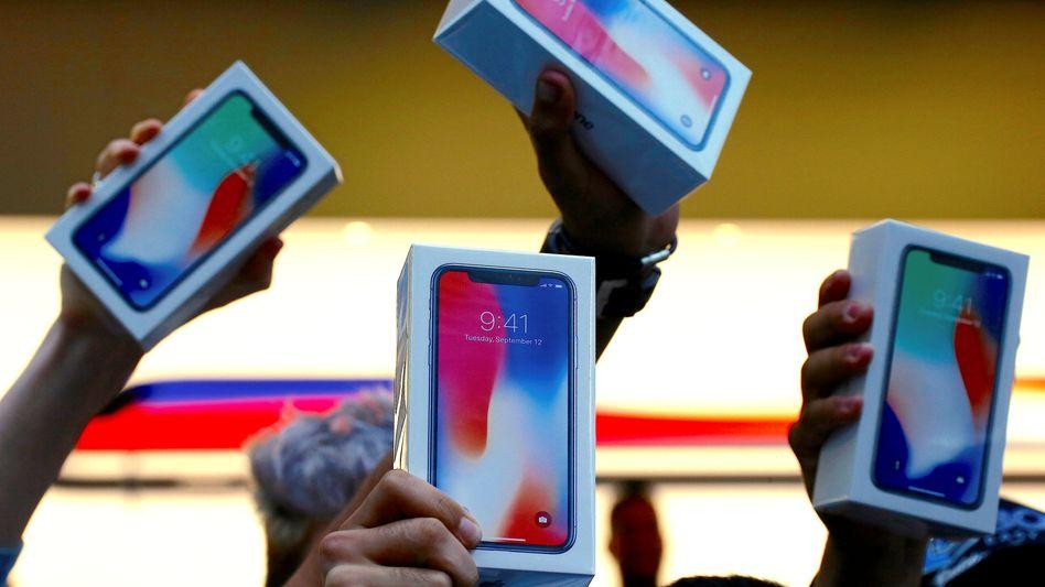 iPhone X: Die These vom Verkaufsschlager scheint nicht mehr zu halten