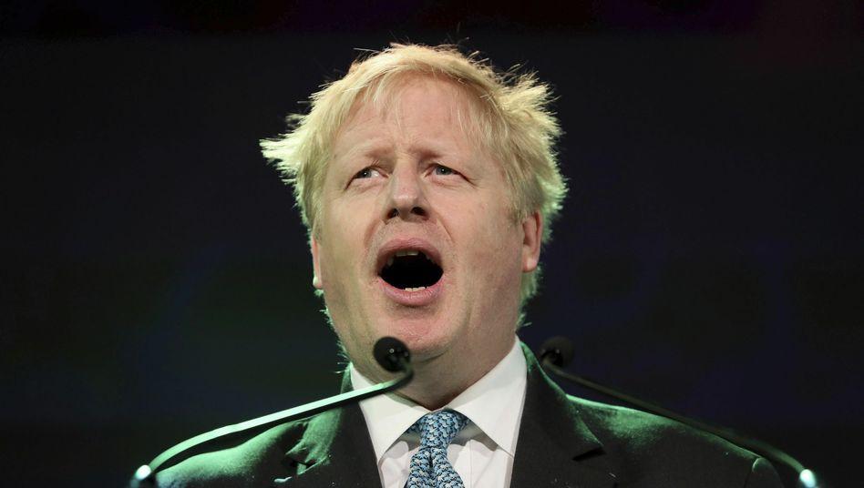 """Wer einmal lügt: Populist Boris Johnson will Regierungschef werden. In seiner kurzen Amtszeit als Außenminister hatte sich """"BoJo"""" mehrfach blamiert"""