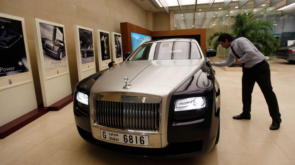 """""""Ghost"""": Viele Kunden, vor allem jüngere, fahren laut Rolls-Royce gern selbst"""