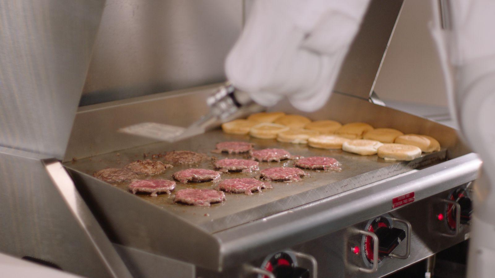 FLIPPY Burger Roboter