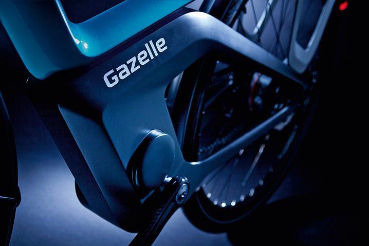 Gazelle Konzept-E-Bike mit voll integriertem Motor und Akku