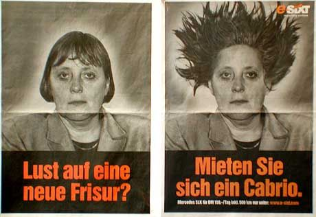 Unvergessene Kampagne: Sixt-Werbung
