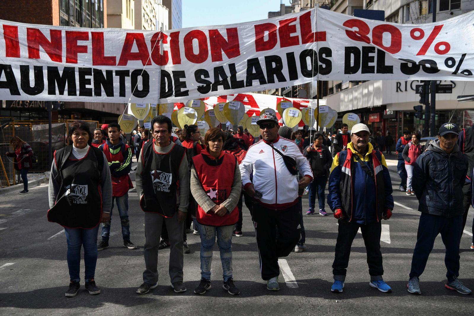 Argentinien / IWF / Protest