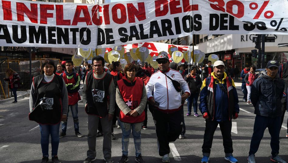 Protest in Buenos Aires